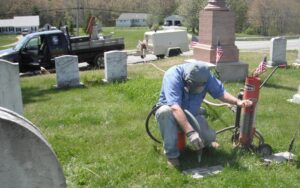 On Site Cemetery Lettering