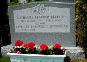 This inscription added on site at the cemetery