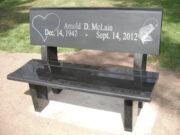 McLain bench